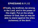 ephesians 6 11 12