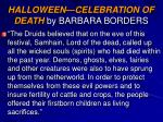 halloween celebration of death by barbara borders7