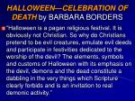 halloween celebration of death by barbara borders8
