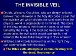 the invisible veil