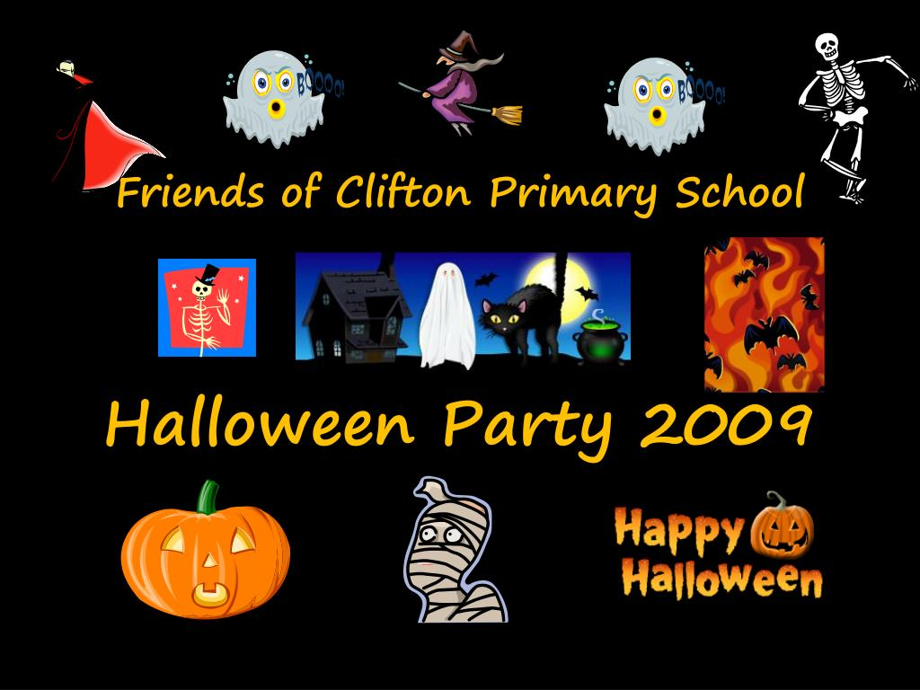 friends of clifton primary school halloween party 2009 l.