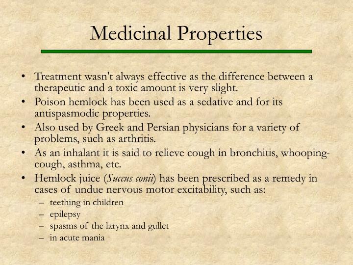Medicinal Properties