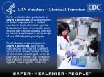 lrn structure chemical terrorism17