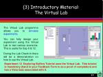 3 introductory material the virtual lab