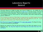 laboratory reports general