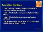 animation heritage40