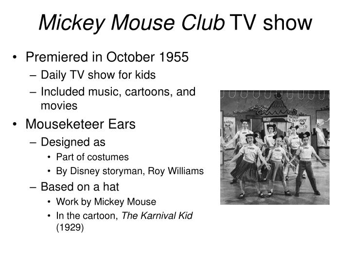 Mickey mouse club tv show
