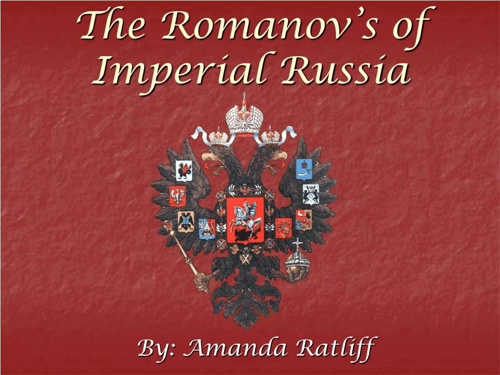 the romanov s of imperial russia l.