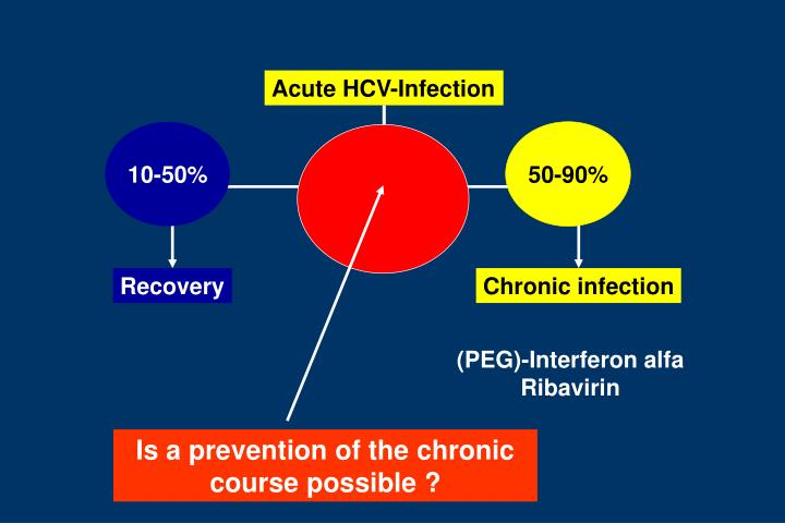 Is a prevention of the chronic course possible ?