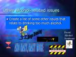 other alcohol related issues