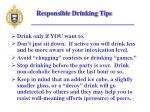 responsible drinking tips16