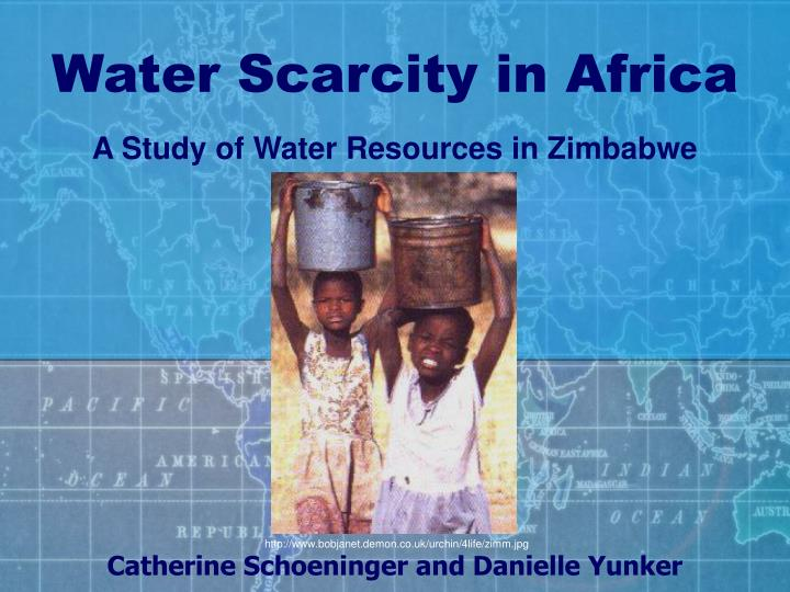 water scarcity in africa n.