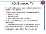 80s extended tv
