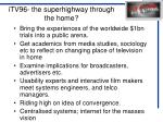 itv96 the superhighway through the home
