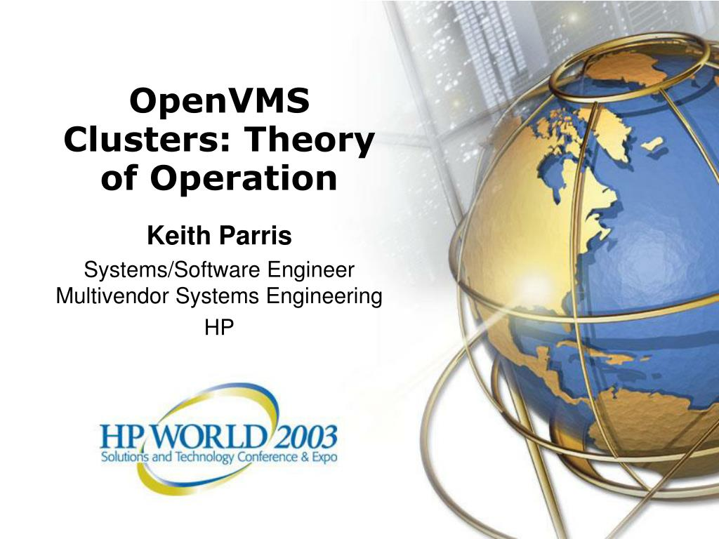 openvms clusters theory of operation l.