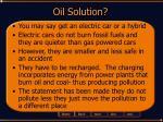 oil solution