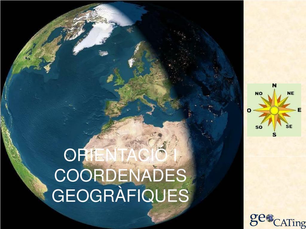 ORIENTACIÓ I COORDENADES