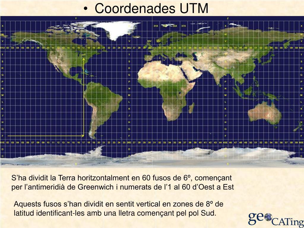 Coordenades UTM