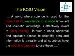 the icsu vision