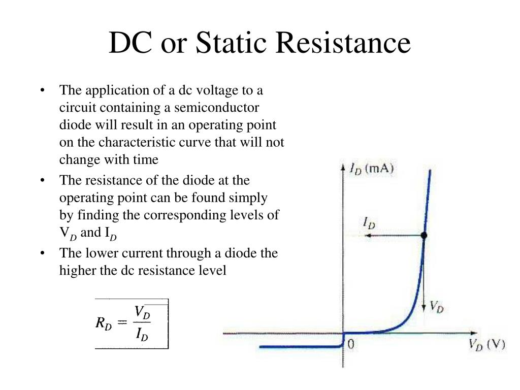DC or Static Resistance