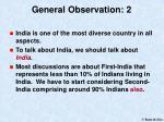 general observation 2