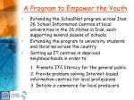 a program to empower the youth