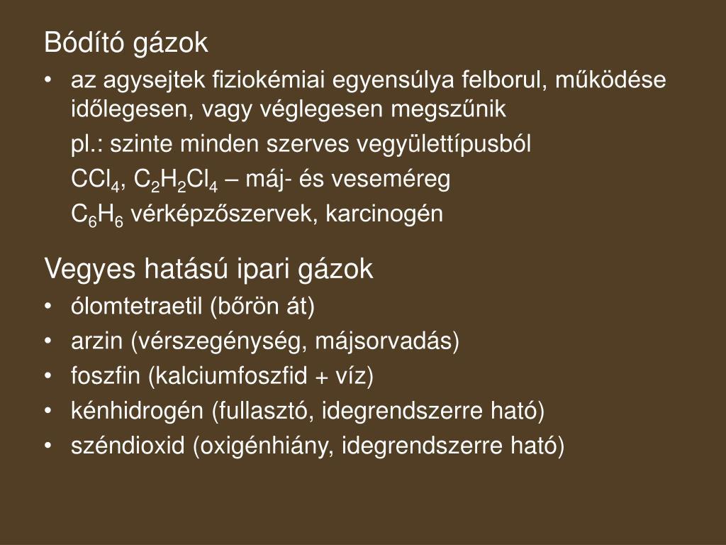 Bódító gázok