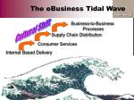 the ebusiness tidal wave