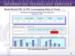 real world itil its leveraging data tools continued28