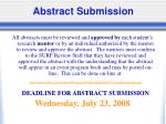 abstract submission50