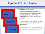 tips for effective posters36