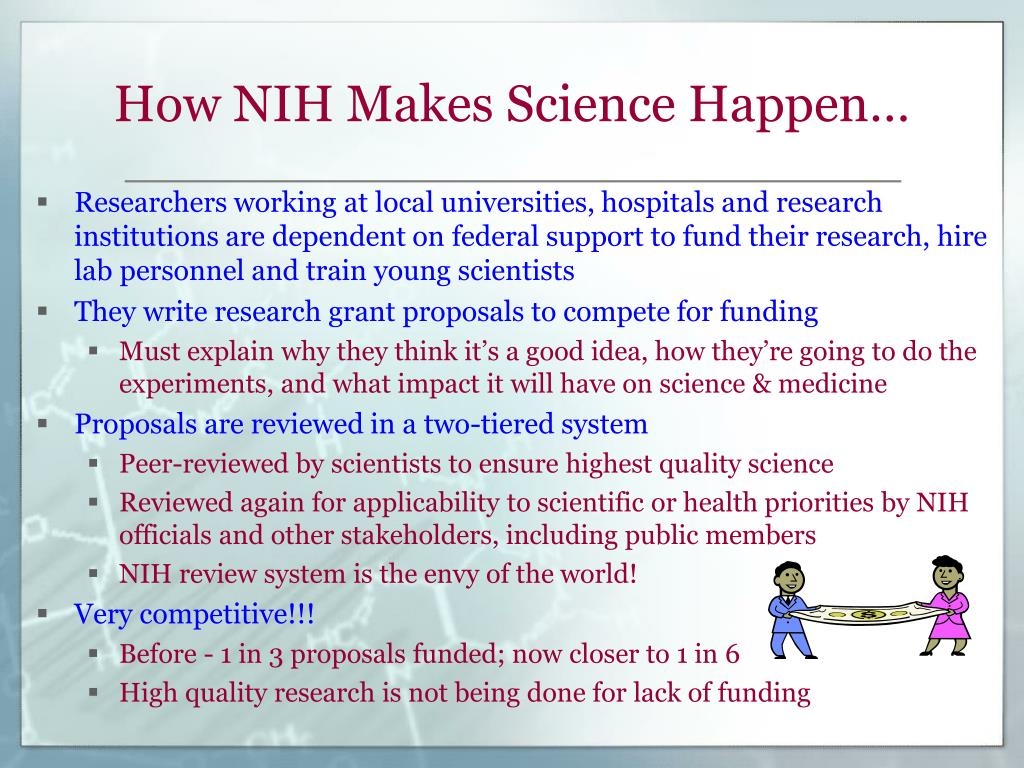 How NIH Makes Science Happen…