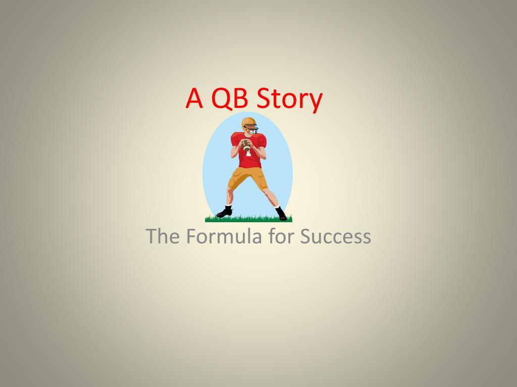 a qb story l.