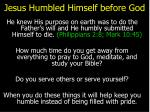 jesus humbled himself before god15