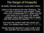 the danger of prosperity10