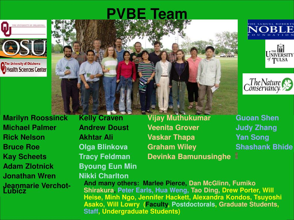 PVBE Team