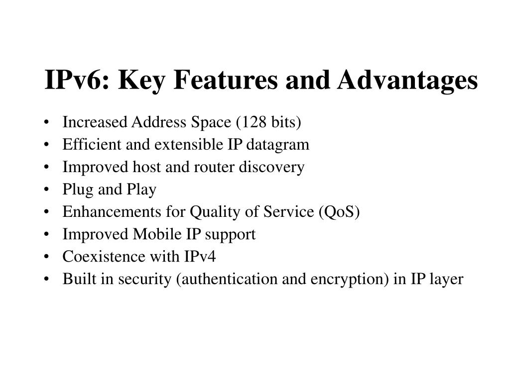 IPv6: Key Features and Advantages