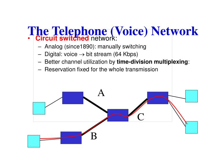 The telephone voice network