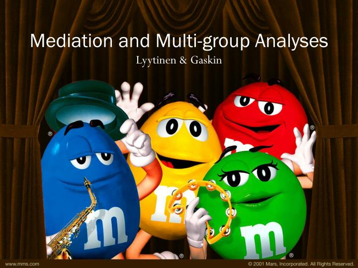 mediation and multi group analyses n.