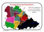 example watershed boundaries