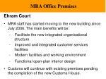 mra office premises