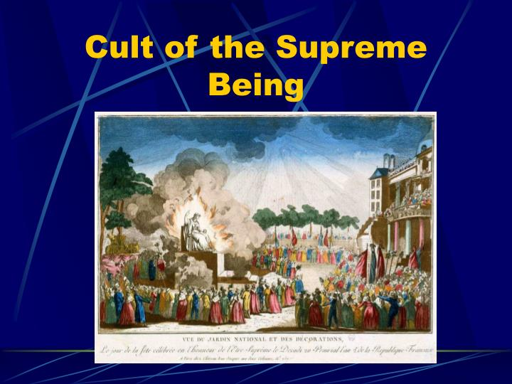 Cult of the Supreme Being