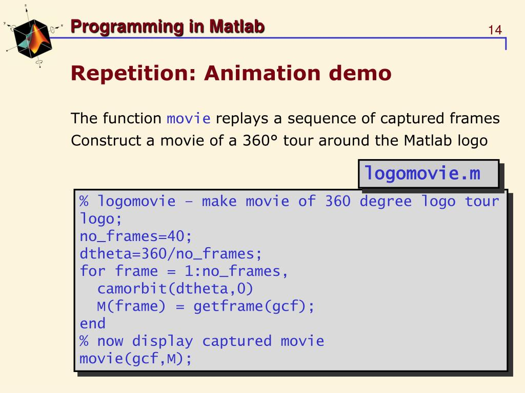 PPT - Introduction to Matlab PowerPoint Presentation - ID:448469