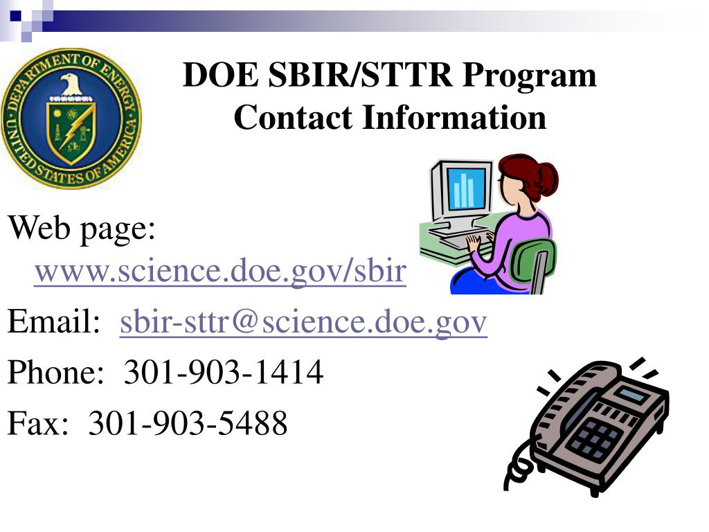DOE SBIR/STTR Program