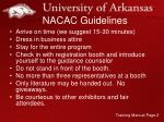 nacac guidelines