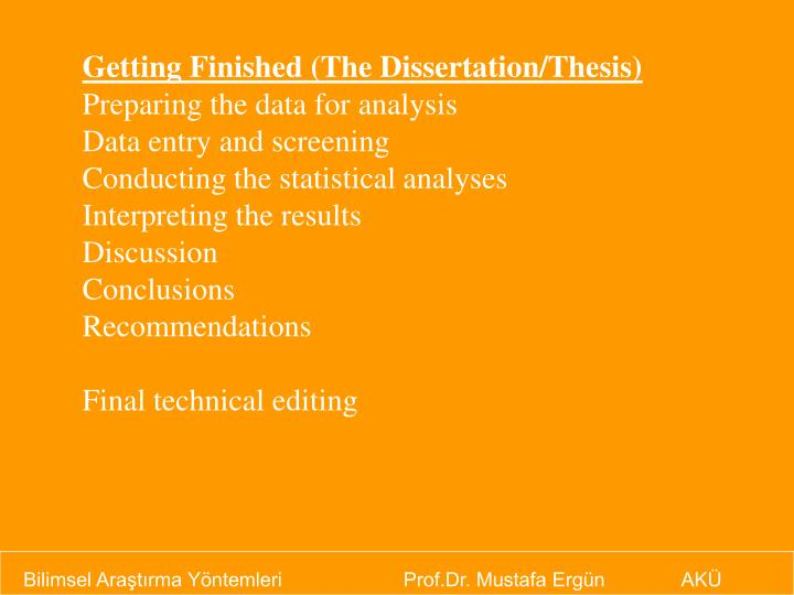 data analysis chapter of a thesis The dissertation analysis chapter is one of the main chapters in a dissertation the chapter basically consists of the data that has been obtained as part of the research, along with the analysis of the data by the researcher.