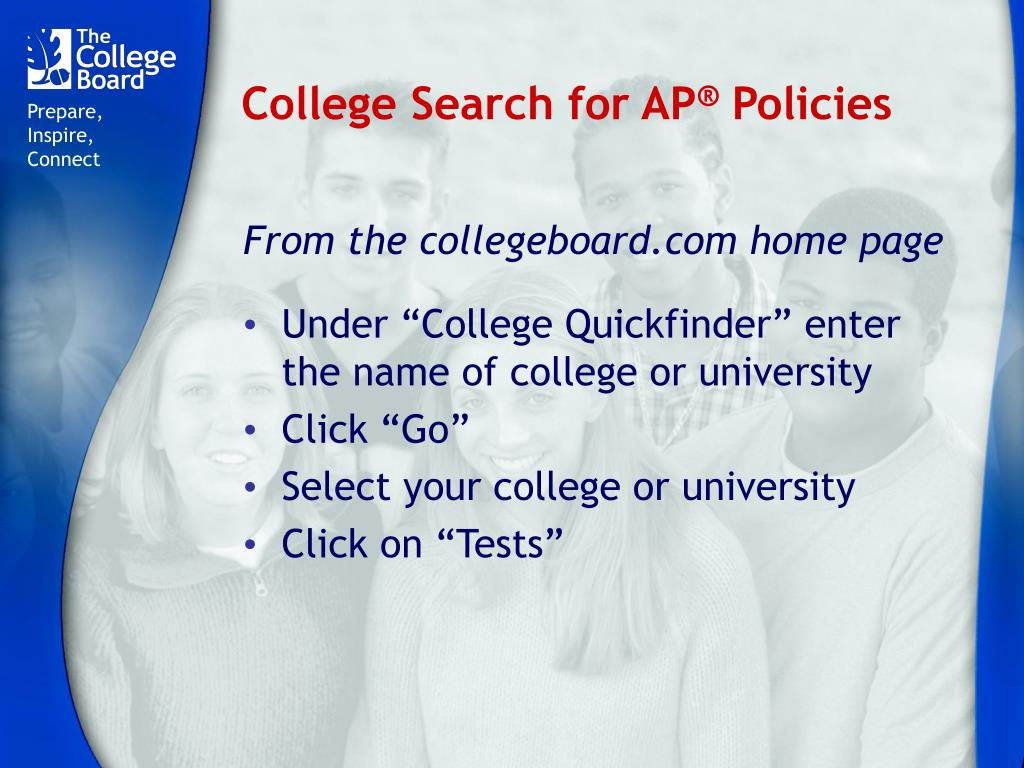 College Search for AP
