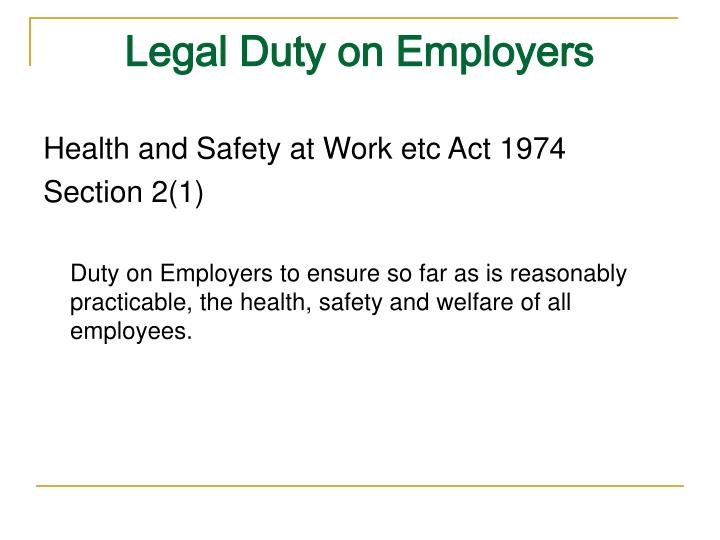 the health and safety at work act 1974 essay This essay has been submitted by a law student this is not an example of the work written by our professional essay writers the health and safety at work act.