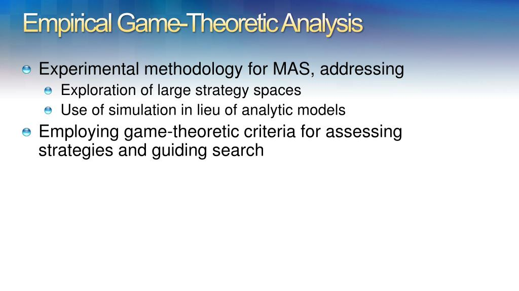 Empirical Game-Theoretic Analysis