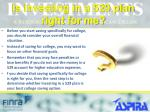 is investing in a 529 plan right for me